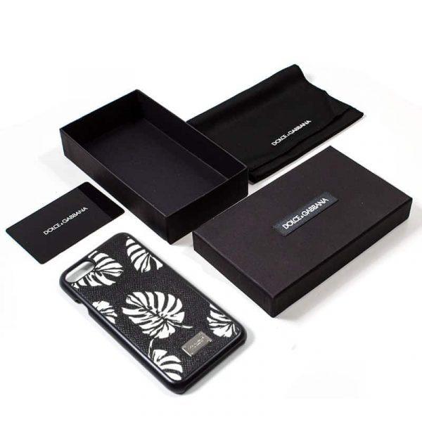 Carcasa iPhone 7 / iPhone 8 / SE 2020 Dolce Gabbana Hojas 2