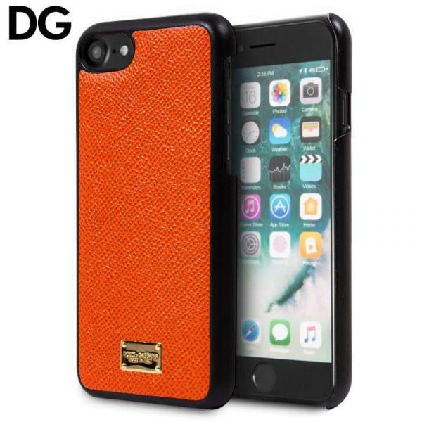 Carcasa iPhone 7 / iPhone 8 / SE 2020 Dolce Gabbana Liso Naranja 1