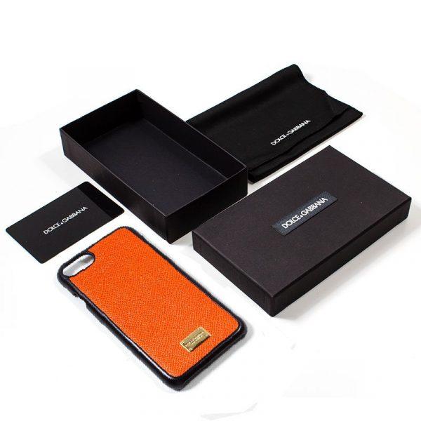 Carcasa iPhone 7 / iPhone 8 / SE 2020 Dolce Gabbana Liso Naranja 2