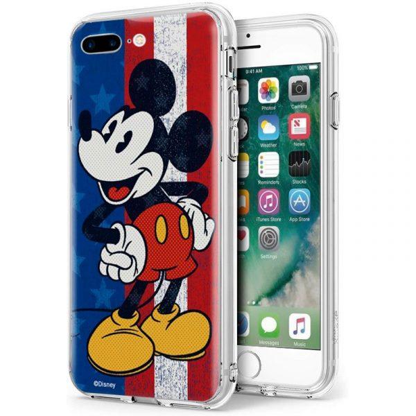 Carcasa iPhone 7 Plus / iPhone 8 Plus Disney Mickey 1