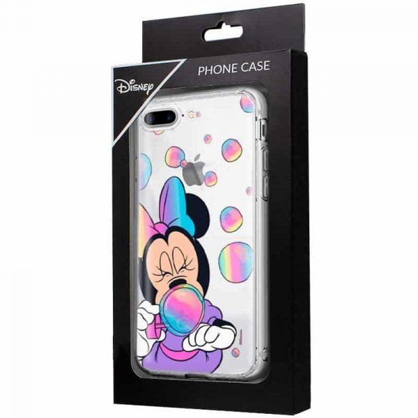 Carcasa iPhone 7 Plus / iPhone 8 Plus Disney Minnie Burbujas 2