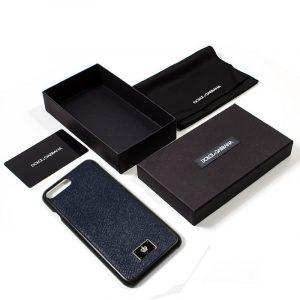 carcasa iphone 7 plus iphone 8 plus licencia dolce gabbana liso marino 2