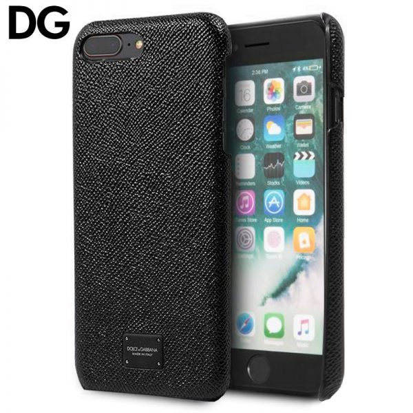 carcasa iphone 7 plus iphone 8 plus licencia dolce gabbana relieve negro 1