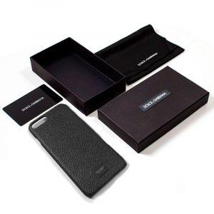 carcasa iphone 7 plus iphone 8 plus licencia dolce gabbana relieve negro 2