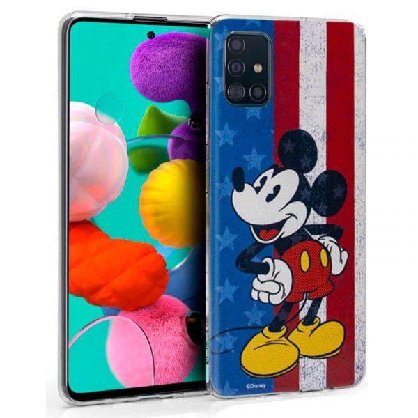 Carcasa Samsung Galaxy A51 Disney Mickey 1