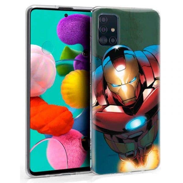 Carcasa Samsung Galaxy A51 Marvel Iron Man 1