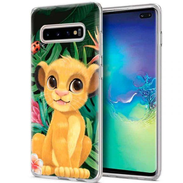 Carcasa Samsung Galaxy S10 Plus Disney Simba 1