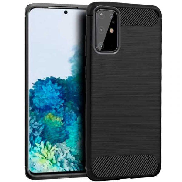 Carcasa Samsung Galaxy S20 Plus Carbón Negro 1