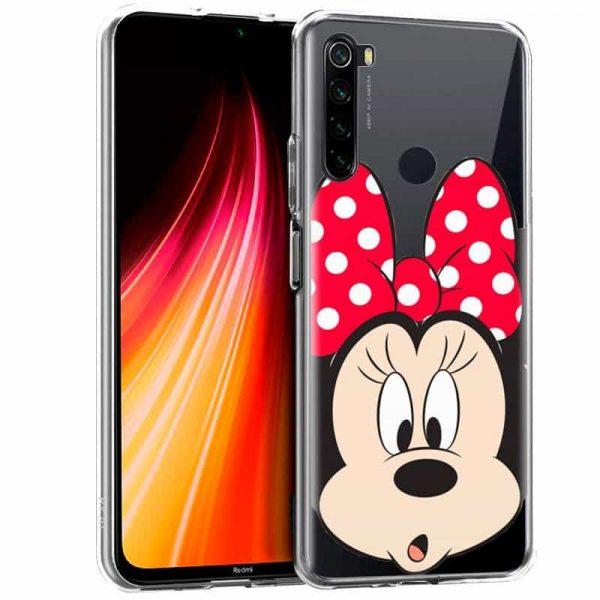Carcasa Xiaomi Redmi Note 8 Disney Minnie 1