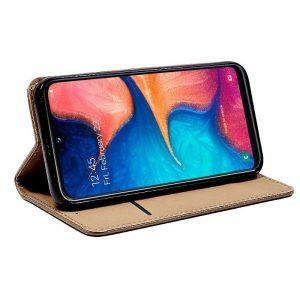 Funda Con Tapa Samsung Galaxy A20e Beige 4