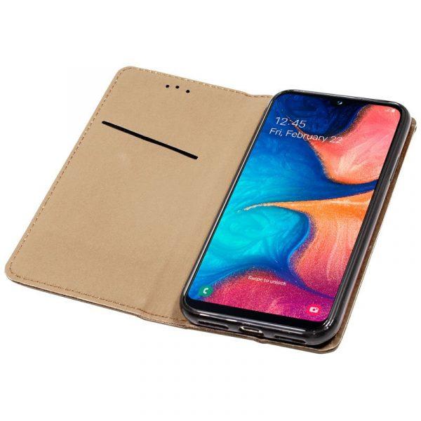 Funda Con Tapa Samsung Galaxy A20e Beige 3