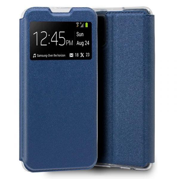 funda flip cover samsung galaxy s20 plus liso azul 1