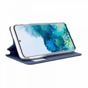 funda flip cover samsung galaxy s20 plus liso azul 2