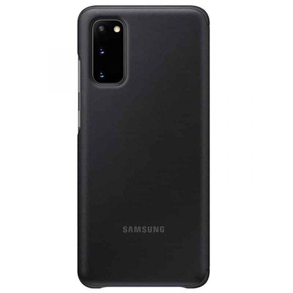 funda original samsung galaxy s20 plus wallet cover negro con blister 3