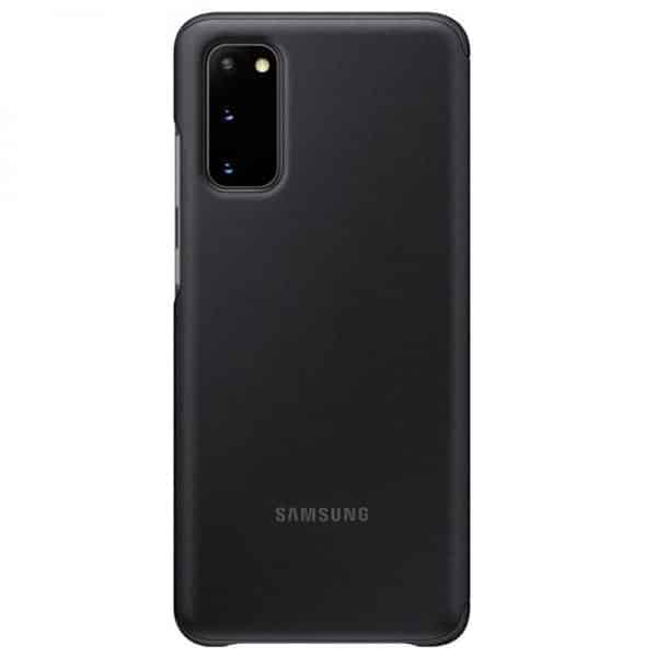 funda original samsung galaxy s20 wallet cover negro con blister 3