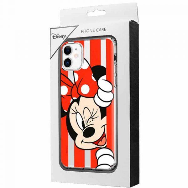 Carcasa iPhone 11 Disney Minnie Rojo 2