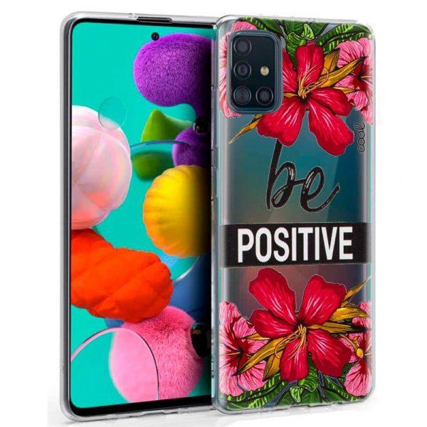 Carcasa Samsung Galaxy A51 Flores 1