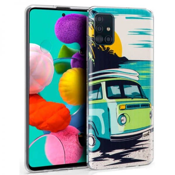Carcasa Samsung Galaxy A51 Dibujos Beach 1