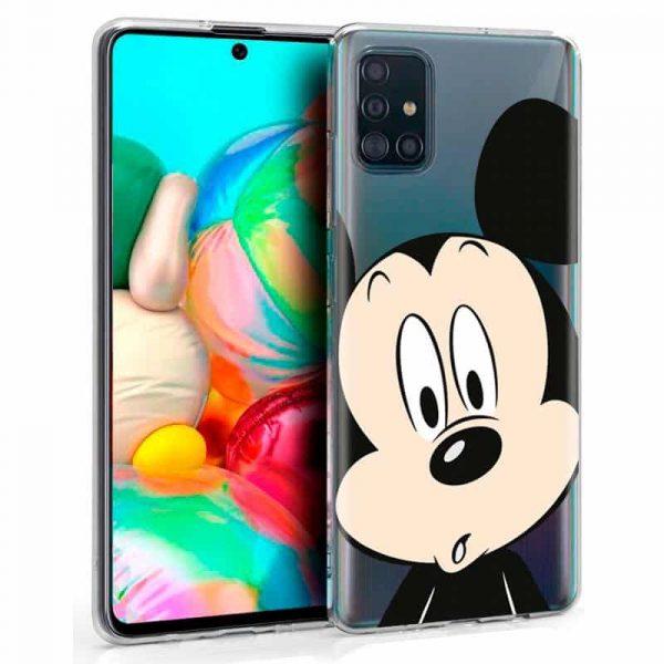 Carcasa Samsung Galaxy A71 Disney Mickey 1