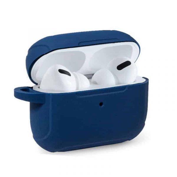 funda soft silicona apple airpods pro azul 1