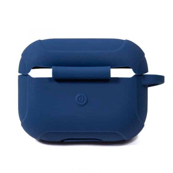 funda soft silicona apple airpods pro azul 3