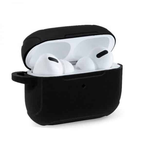 funda soft silicona apple airpods pro negro 1