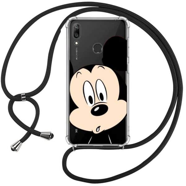 carcasa huawei y7 2019 licencia disney mickey cordon 1