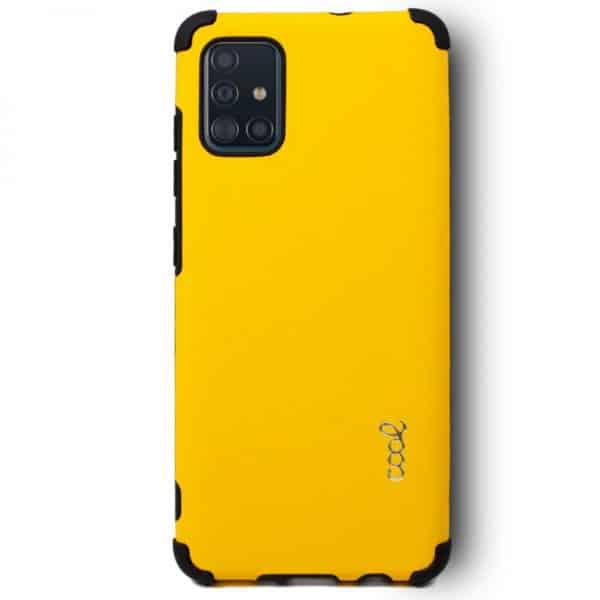 Carcasa Samsung Galaxy A51 AntiShock Amarillo 2