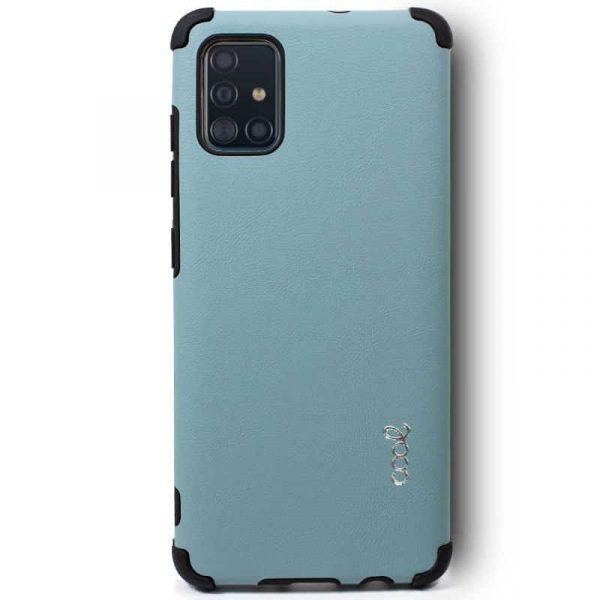 Carcasa Samsung Galaxy A71 AntiShock Azul 2