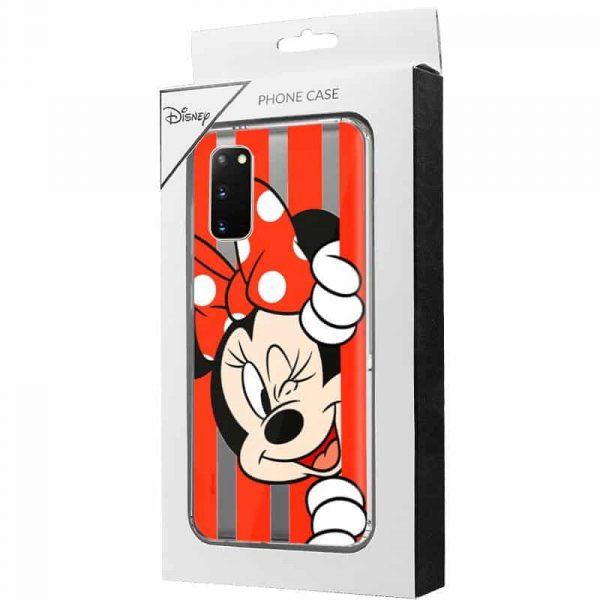 Carcasa Samsung Galaxy S20 Disney Minnie Rojo 2