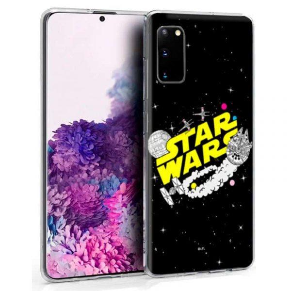 carcasa samsung galaxy s20 licencia star wars 1