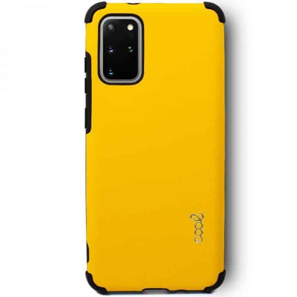 Carcasa Samsung Galaxy S20 Plus AntiShock Amarillo 2