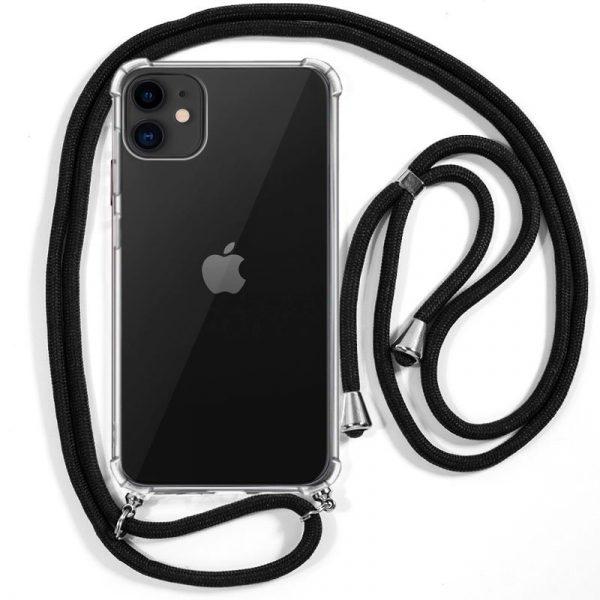 Carcasa iPhone 11 Cordón Negro 1