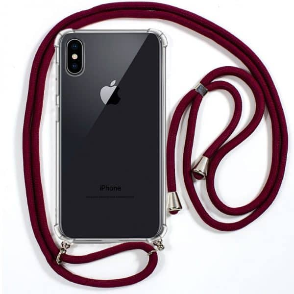 carcasa iphone xs max cordon granate 1