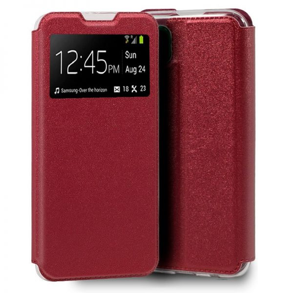 Funda Con Tapa Huawei P40 Lite Rojo 1