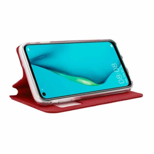 Funda Con Tapa Huawei P40 Lite Rojo 2