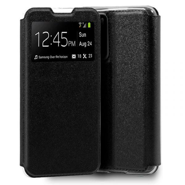Funda Con Tapa Huawei P40 Pro Negro 1