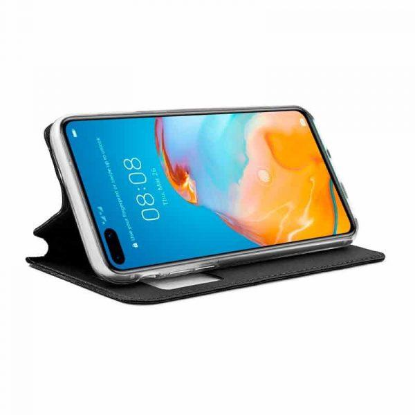 Funda Con Tapa Huawei P40 Pro Negro 2