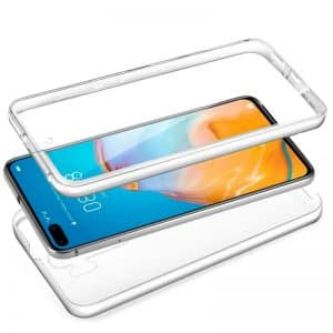 Funda Silicona 3D Huawei P40 Pro (Transparente Frontal + Trasera) 3
