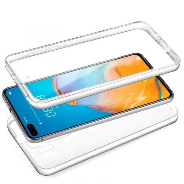 Funda Silicona 3D Huawei P40 Pro (Transparente Frontal + Trasera) 2
