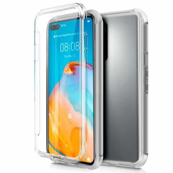Funda Silicona 3D Huawei P40 (Transparente Frontal + Trasera) 1