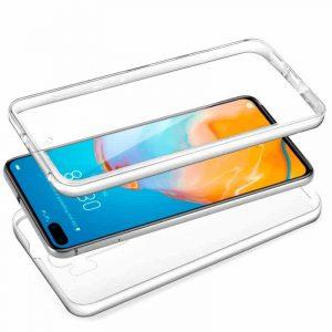 Funda Silicona 3D Huawei P40 (Transparente Frontal + Trasera) 3