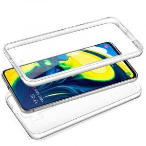 Funda Silicona 3D Samsung A805 Galaxy A80 (Transparente Frontal + Trasera) 3