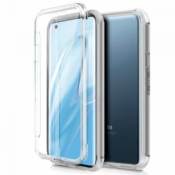 Funda Silicona 3D Xiaomi Mi 10 / Mi 10 Pro (Transparente Frontal + Trasera) 1