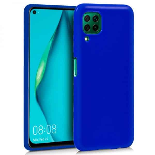 Funda Silicona Huawei P40 Lite Azul 1