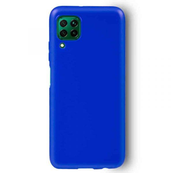 Funda Silicona Huawei P40 Lite Azul 2