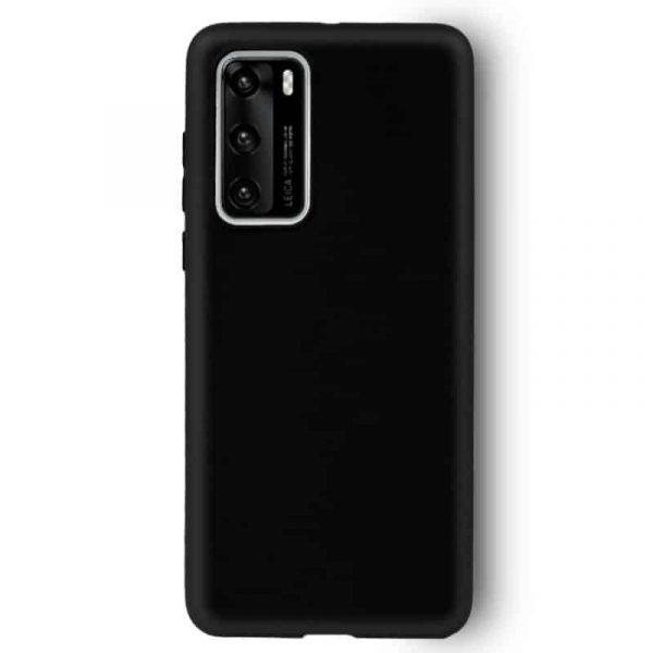 Funda Silicona Huawei P40 Pro Negro 2