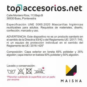 Mascarilla Reutilizable Amarilla Diseño Leopardo Negro Glitter Dorado 7