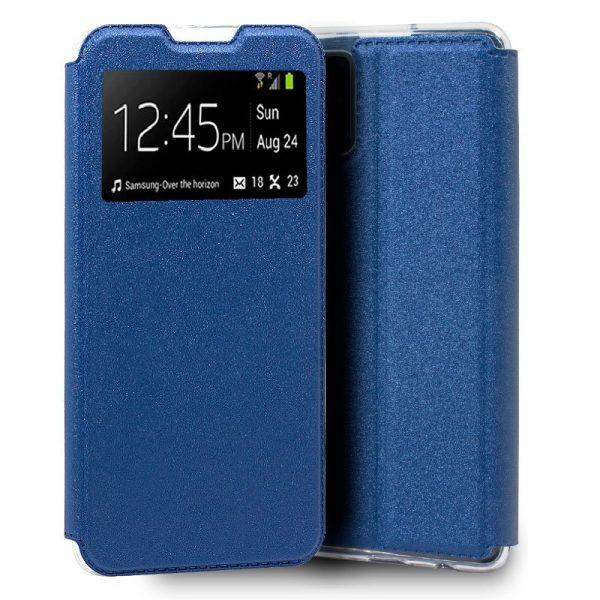 Funda Con Tapa Samsung Galaxy A41 Azul 1
