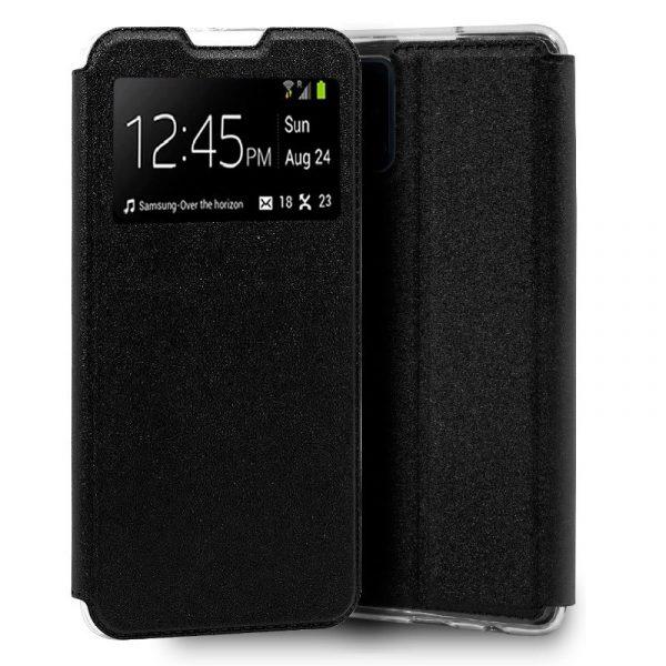 Funda Con Tapa Samsung Galaxy A41 Negro 1